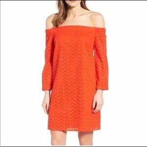 Halogen off the shoulder dress (NWT)